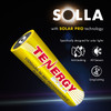 Tenergy Solla Rechargeable NiMH AA Battery, 1000mAh Solar Batteries for Solar Garden Lights, Anti-Leak, Outdoor Durability, 5+ Years Performance, 12 PCS, UL Certified