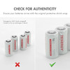 16 pack, Tenergy Premium CR123A 3V Lithium Battery, PTC Protected, comes with battery cases - [Non-Rechargeable]