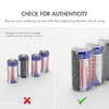 24-pack, Tenergy CR123A Lithium Battery with PTC Protected - [Non-Rechargeable]