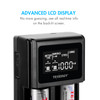 Tenergy TN471U 2-bay Universal Battery Charger for Li-ion/NiMH with LCD, Micro USB input
