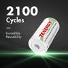 48pcs Tenergy Centura NiMH C 1.2V 4000mAh Rechargeable Batteries