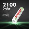 8 pcs (2 x Cards) Tenergy Centura NiMH AAA 1.2V 800mAh Rechargeable Batteries