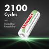 Combo: 20pcs Tenergy Centura NiMH 1.2V Rechargeable Batteries, (12AA/8AAA)