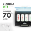 4pcs Tenergy Centura Lite NiMH D 1.2V 3000mAh Rechargeable Batteries