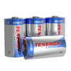 Tenergy Primary Lithium Thionyl Chloride Battery 1/2 AA 3.6V 1200mAh (ER14250) (non Rechargeable) - 4 Pack