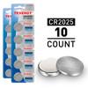 10pcs (2 x Cards) Tenergy CR2025 Lithium Button Cells