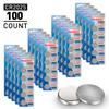 100pcs (20 x Cards) Tenergy CR2025 Lithium Button Cells