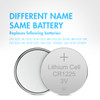 1 Card: 5pcs CR1225 3V Alkaline Button Cells