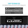 Combo: Tenergy TN480U 8-Bay NiMH Battery LCD Display Fast Charger + 8pcs 1000mah AAA Rechargeable Batteries