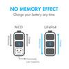 Tenergy 3.2V 400mAh 14500 AA Size LiFePO4 Rechargeable Batteries