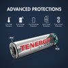 Card: Tenergy Li-ion 18650 Cylindrical 3.7V 2600mAh Button Top Rechargeable Battery w/ PCB