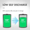 20pcs Tenergy Centura NiMH 9V 200mAh Low Self Discharge Rechargeable Batteries