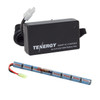 Combo: Tenergy Airsoft NiMH 9.6V 1600mAh Stick  Battery Pack + Charger (#01026)