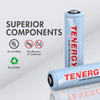 Combo: TN162 8-Bay Smart AA/AAA NiMH/NiCd Charger + 8 AAA NiMH Rechargeable Batteries