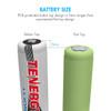 Kit: Tenergy 2CH 18650/14500 Li-ion Battery Charger + 2 PCS Li-ion 18650 3.7V 2600mAh Batteries (Button Top) w/ PCB