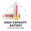 NiCd C Size 3500mAh Rechargeable battery Button Top