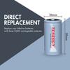 Tenergy C 5000mAh NiMH Rechargeable Battery