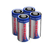 Tenergy CR123A Lithium Battery with PTC Protected (4 pcs) -- Retail Card