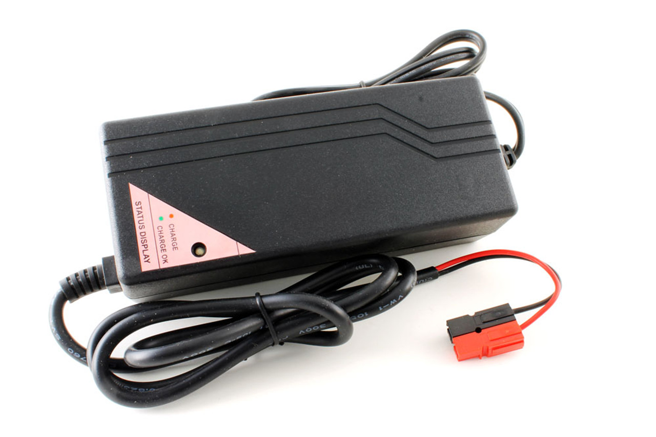 Tenergy Smart Charger for 37V 10-Cell 2A Li-ion/LiPo Battery Pack w/ Tamiya or Anderson Connector  Connector Selections  Anderson
