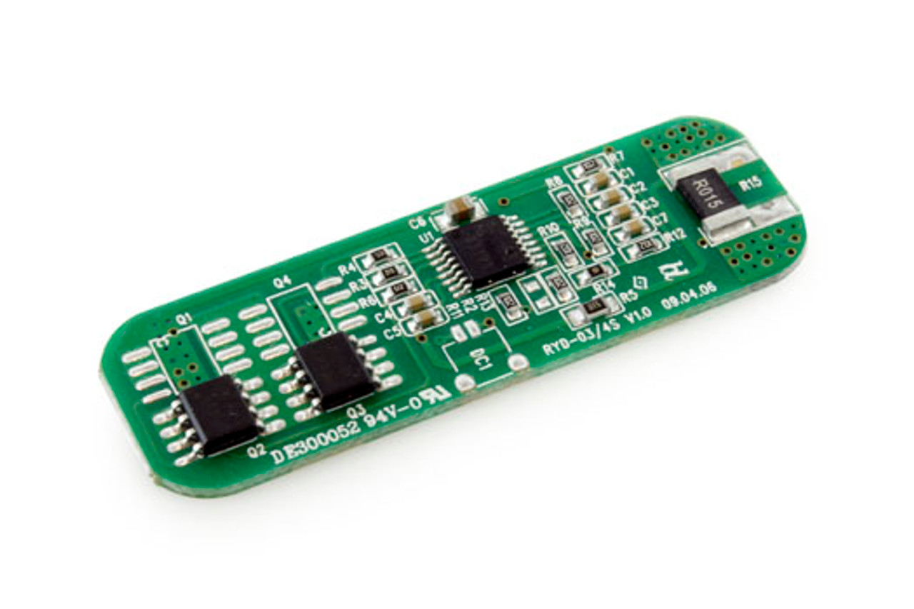 Protection Circuit Module [PCB] for 11.1V (3S) Li-ion Battery Pack (Cutoff 5.7A)
