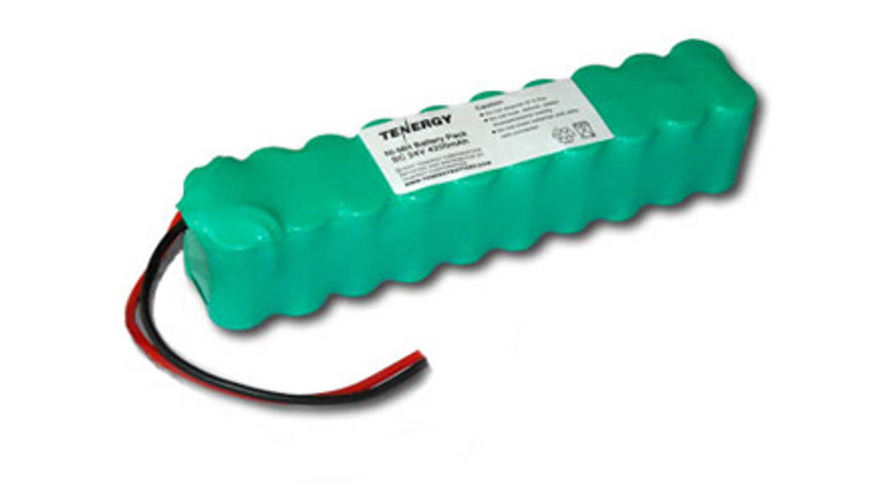 AT: Tenergy 24V 4200mAh NiMH Rechargeable Battery Pack (20S1P, 100.8Wh, 30A Rate)