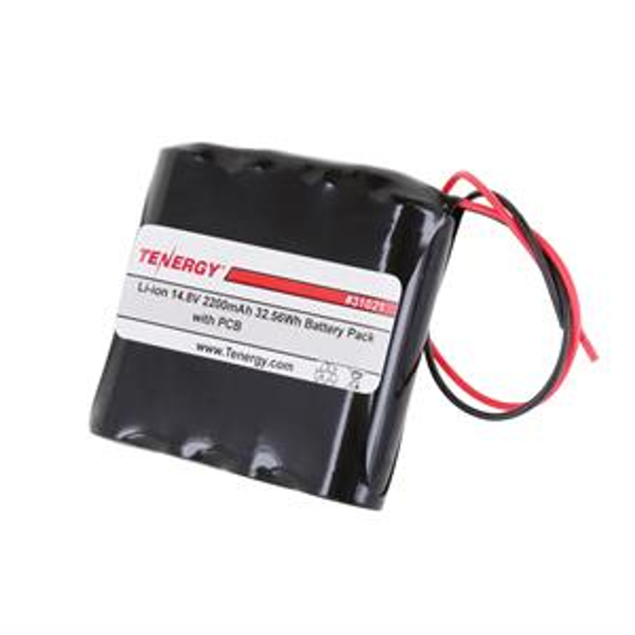 AT: Tenergy Li-ion 14.8V 2200mAh Rechargeable Battery Pack w/ PCB (4S1P, 32.56Wh, 4A Rate)