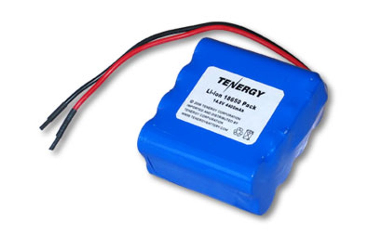 AT: Tenergy Li-ion 18650 14.8V 4400mAh Rechargeable Battery Pack w/ PCB (4S2P, 65.12Wh, 6A Rate)