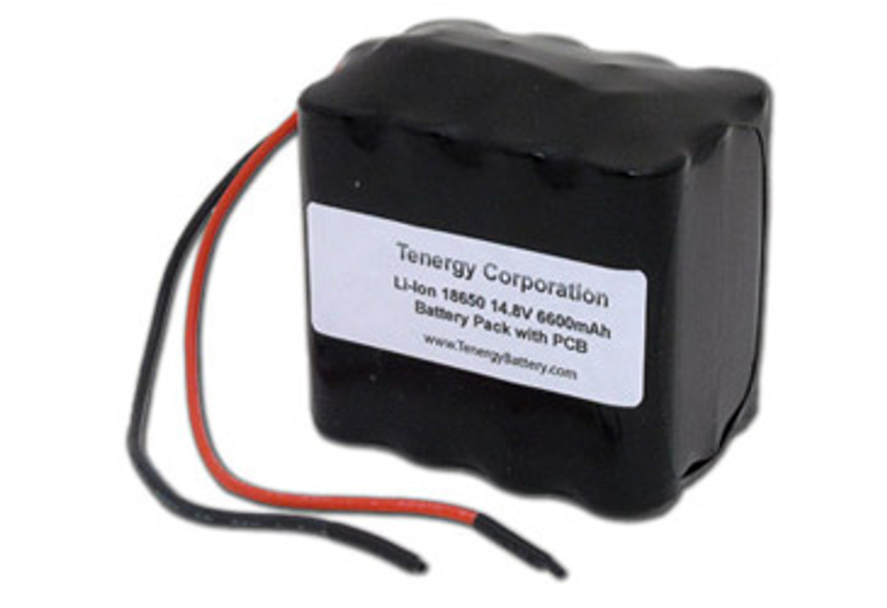 AT: Tenergy Li-ion 18650 14.8V 6600mAh Rechargeable Battery Pack w/ PCB (4S3P, 97.68Wh, 6A Rate)