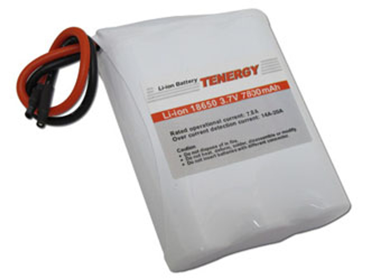 AT: Tenergy Li-ion 18650 3.7V 7800mAh Rechargeable Battery Pack w/ PCB (1S3P, 28.08Wh, 5A Rate)