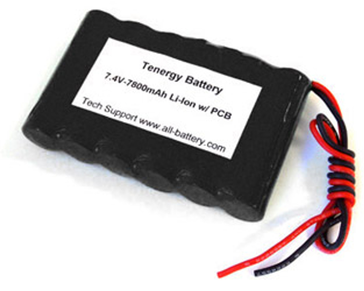 AT: Tenergy Li-ion 18650 7.4V 7800mAh Rechargeable Battery Pack w/ PCB (2S3P, 57.72Wh, 5A Rate)