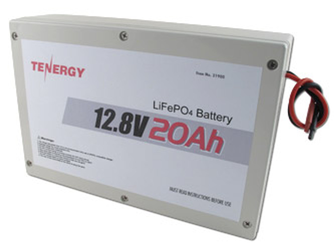 AT: Tenergy 12.8V 60Ah LiFePO4 Battery Pack with PCB & Bare Leads (DGR)