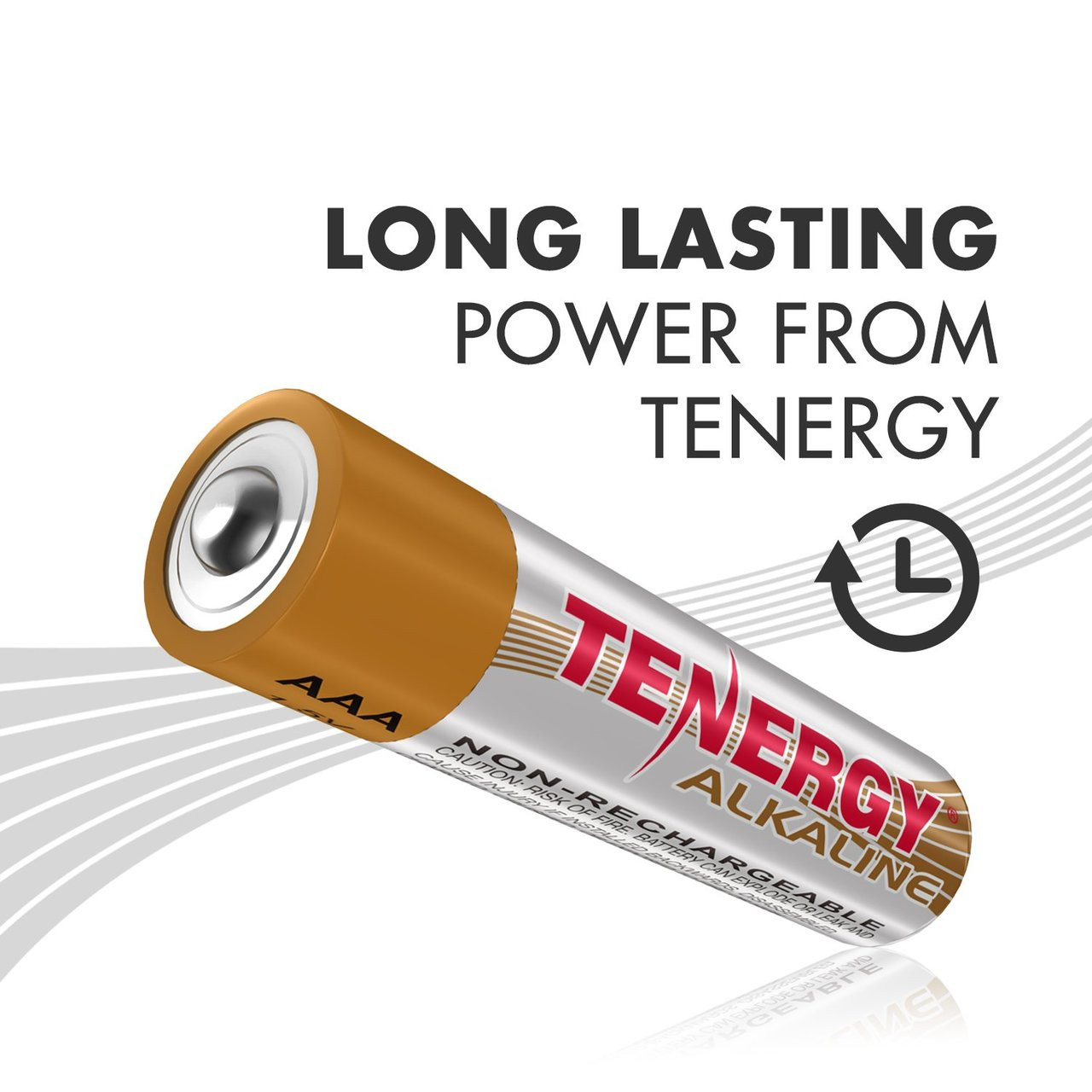 Combo: 120 pcs Tenergy Alkaline AAA Batteries