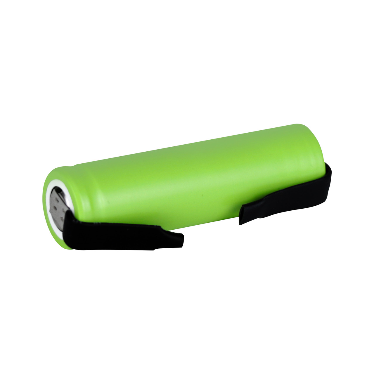 Tenergy Li-ion 14500 Cylindrical 3.6V 750mAh Flat Top Rechargeable Battery - UL Listed