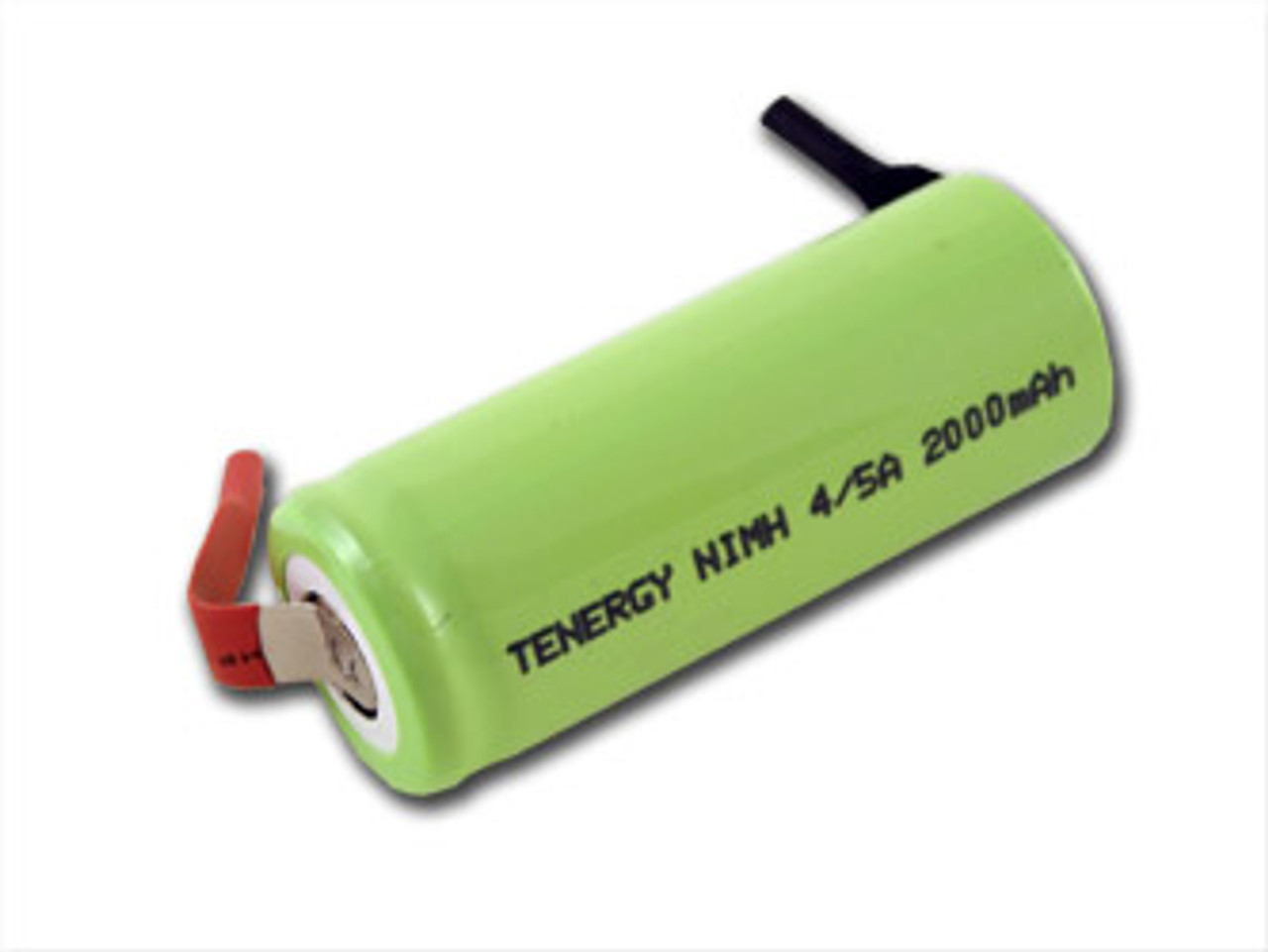 Tenergy 4/5A 2000mAh NiMH Flat Top Rechargeable Battery
