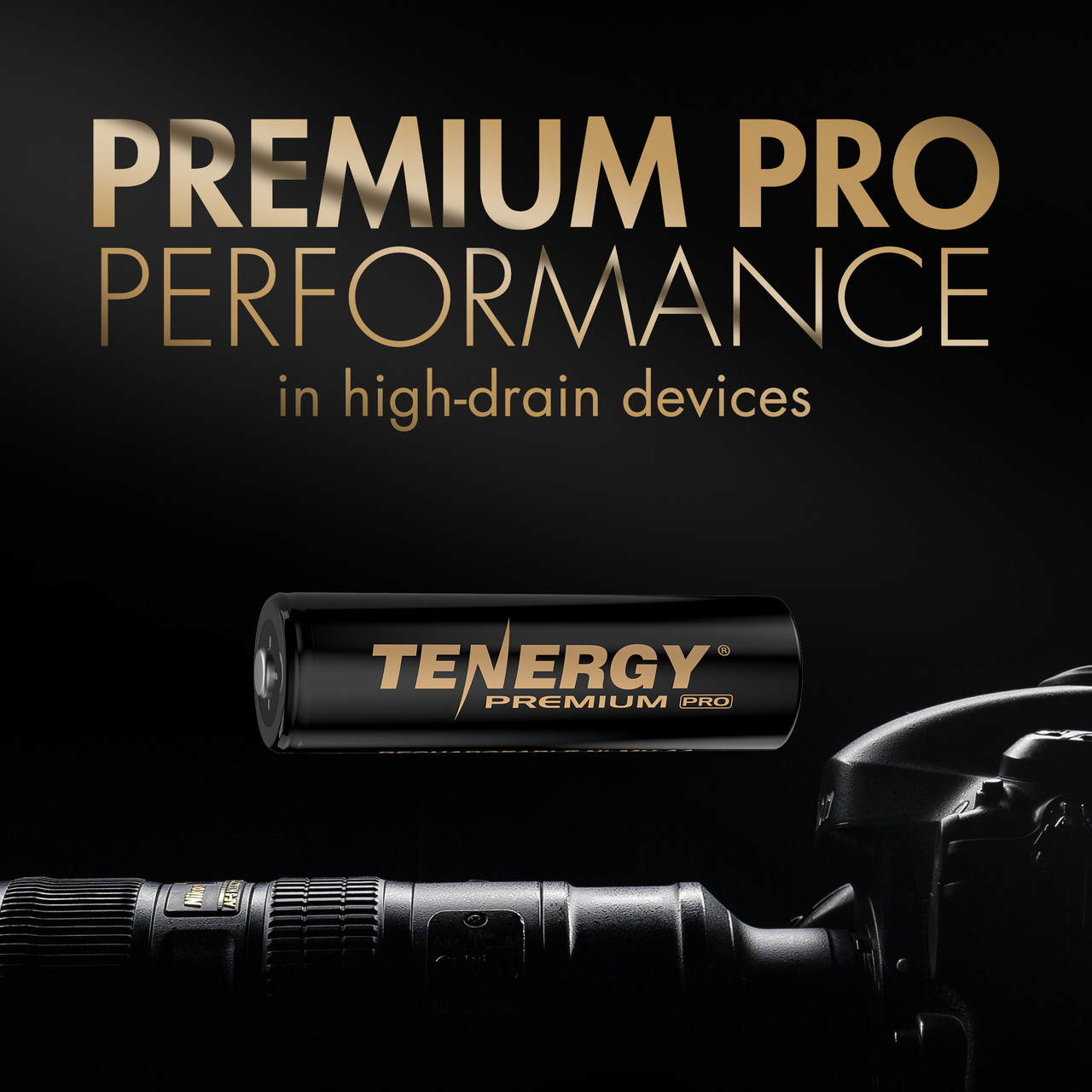 Tenergy Premium PRO Rechargeable AA Batteries, High Capacity Low Self-Discharge 2800mAh NiMH AA Battery, 4 Pack