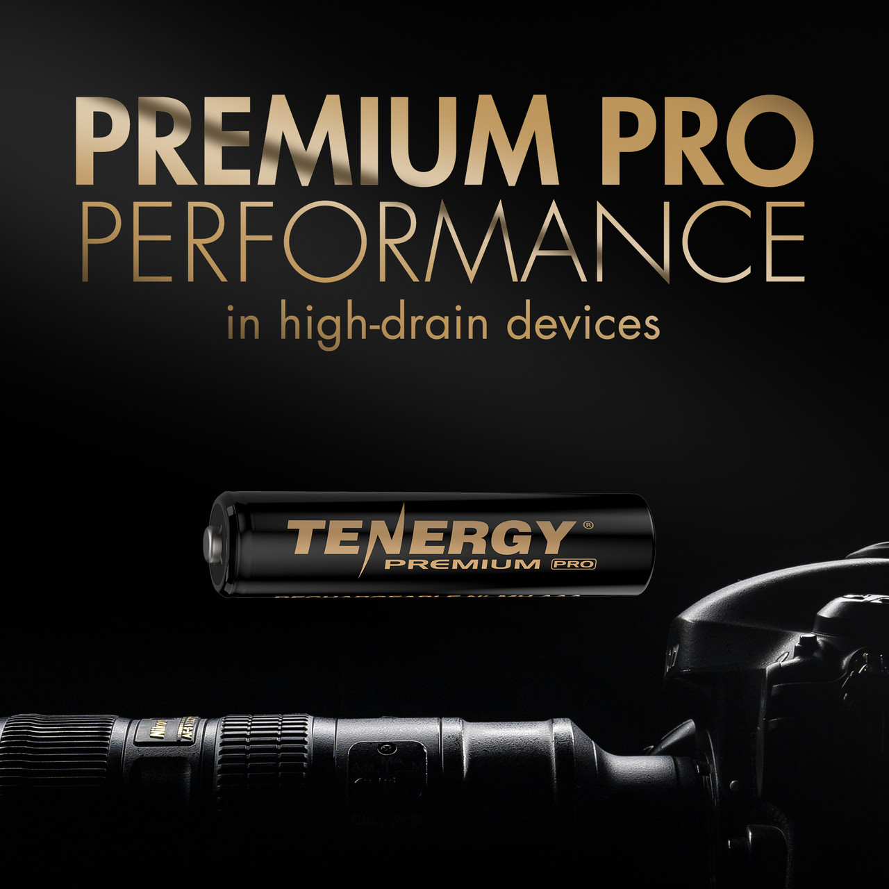 Tenergy Premium PRO Rechargeable AAA Batteries, High Capacity Low Self-Discharge 1100mAh NiMH AAA Battery, 4 Pack