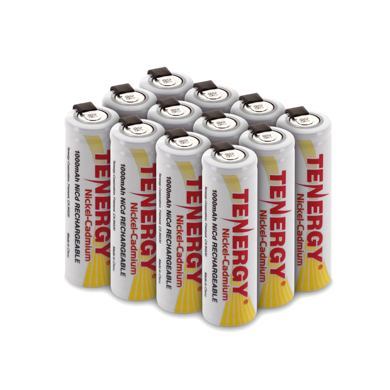 Aaa Rechargeable Batteries With Solder Tabs