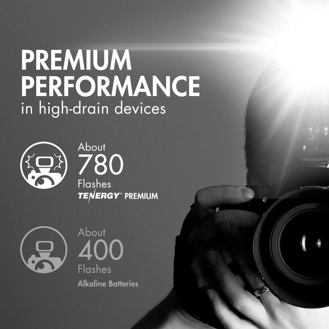 Combo: 24 pcs Tenergy Premium NiMH Rechargeable Batteries (12AA/12AAA)