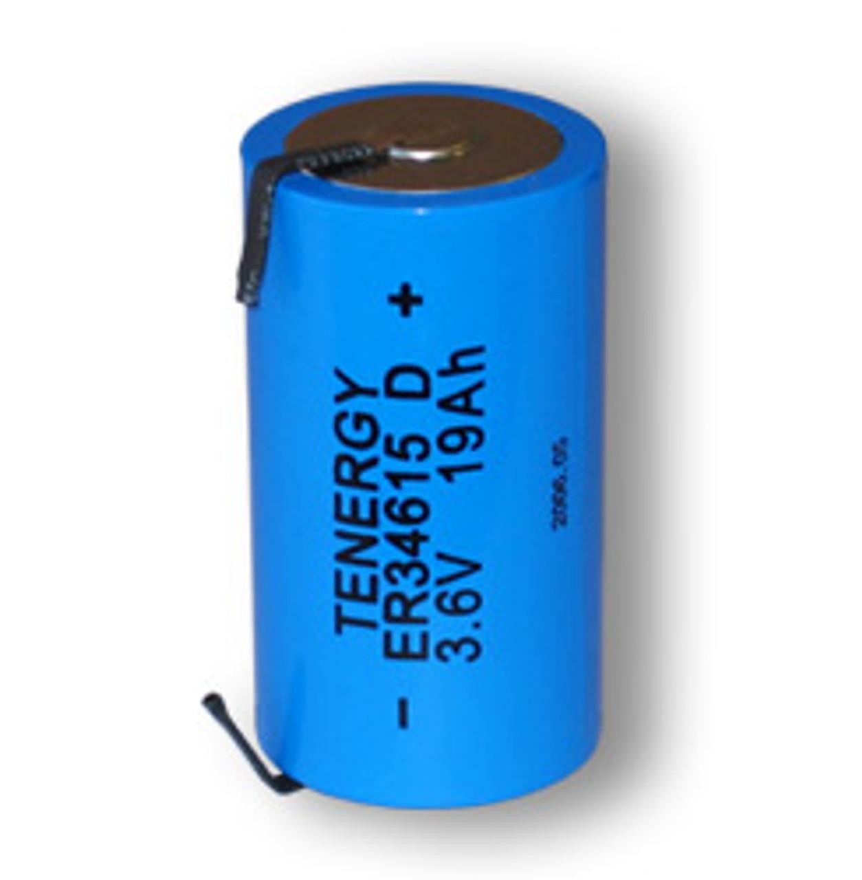 Primary High Energy Lithium Thionyl chloride Battery: D Size 3.6V 19 Ah (ER34615,  SAFT LSH20 )  (non Rechargeable) (DGR)