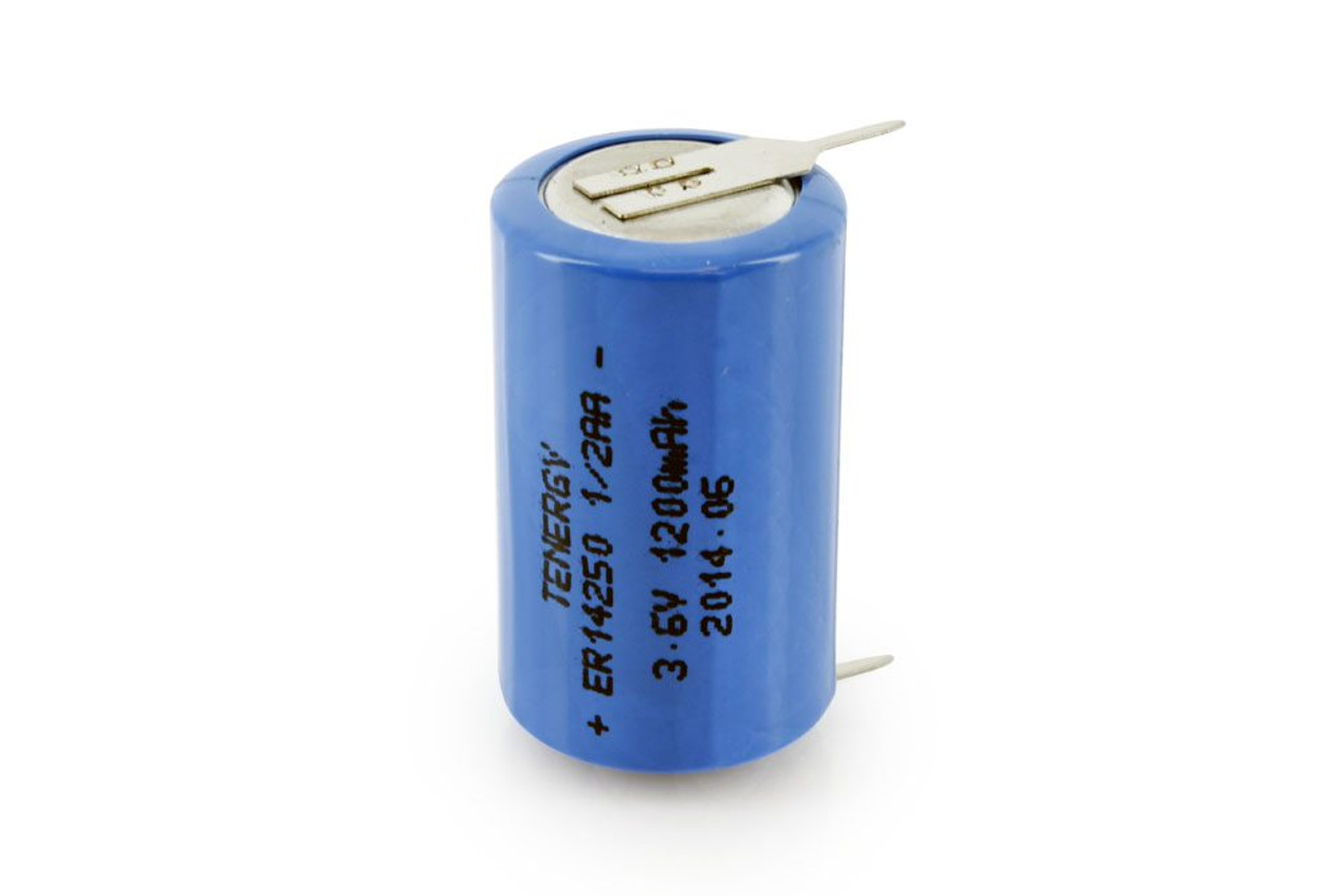Primary Lithium Thionyl chloride Battery 1/2 AA 3.6V 1200mAh (ER14250) (non Rechargeable)