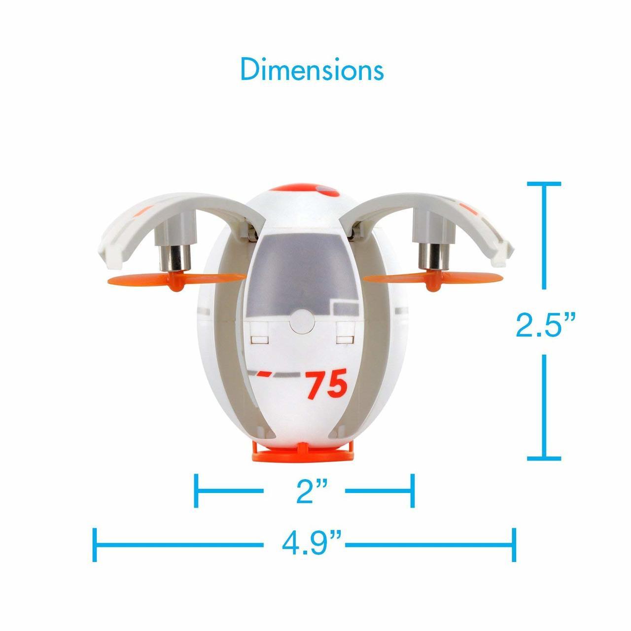 TDR Eggsplorer Flying Egg 2.4G RC Quadcopter Stunt Drone with Auto Hovering