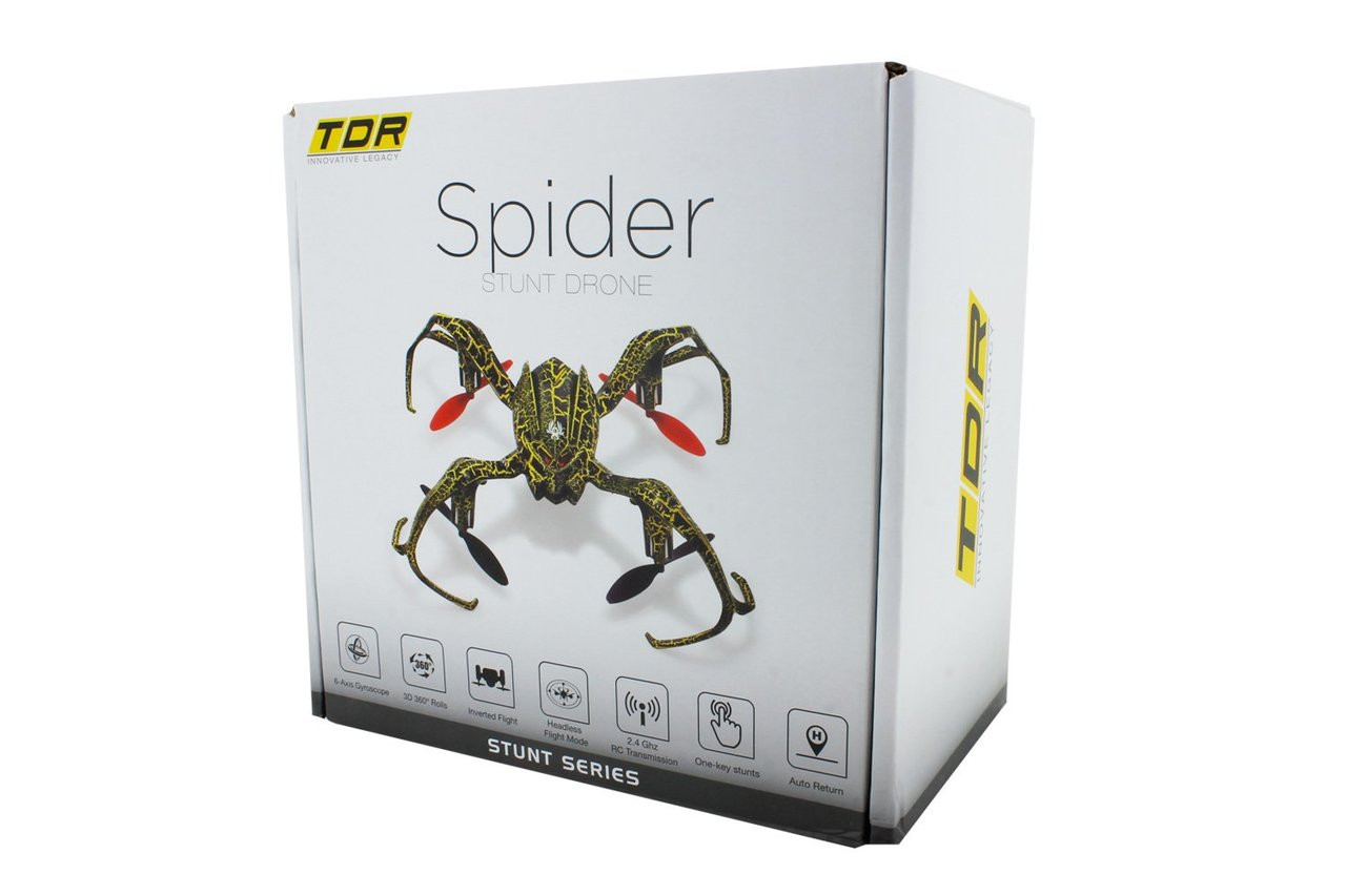 TDR Spider Stunt RC Drone 6-Axis 2.4GHZ Quadcopter