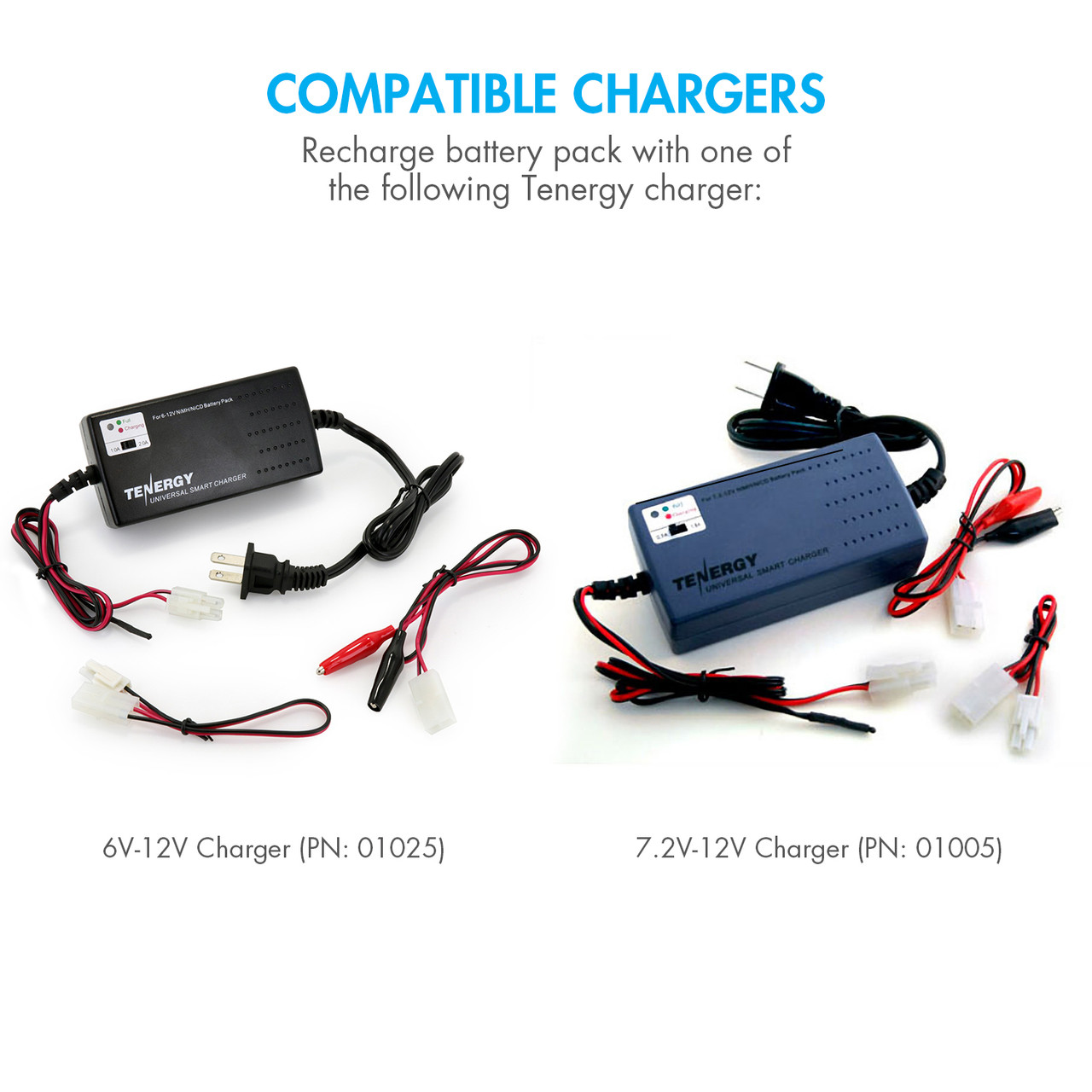Tenergy NiMH 12V 2000mAh Battery Pack w/ Bare Leads