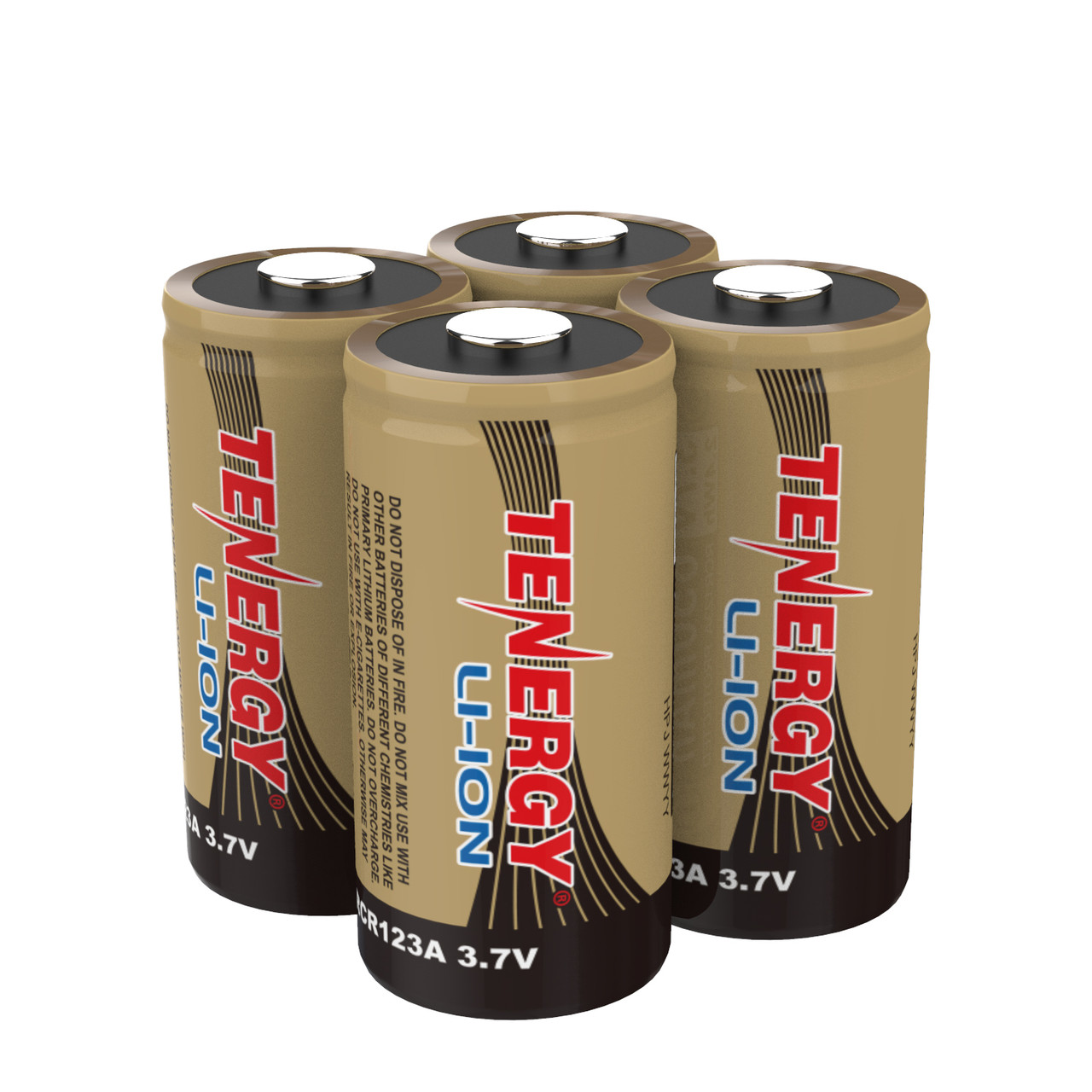Rechargeable Batteries (4-Pack) Arlo Certified Li-ion 3.7V 650mAh Battery for Arlo Smart Security Camera, UL & UN Certified