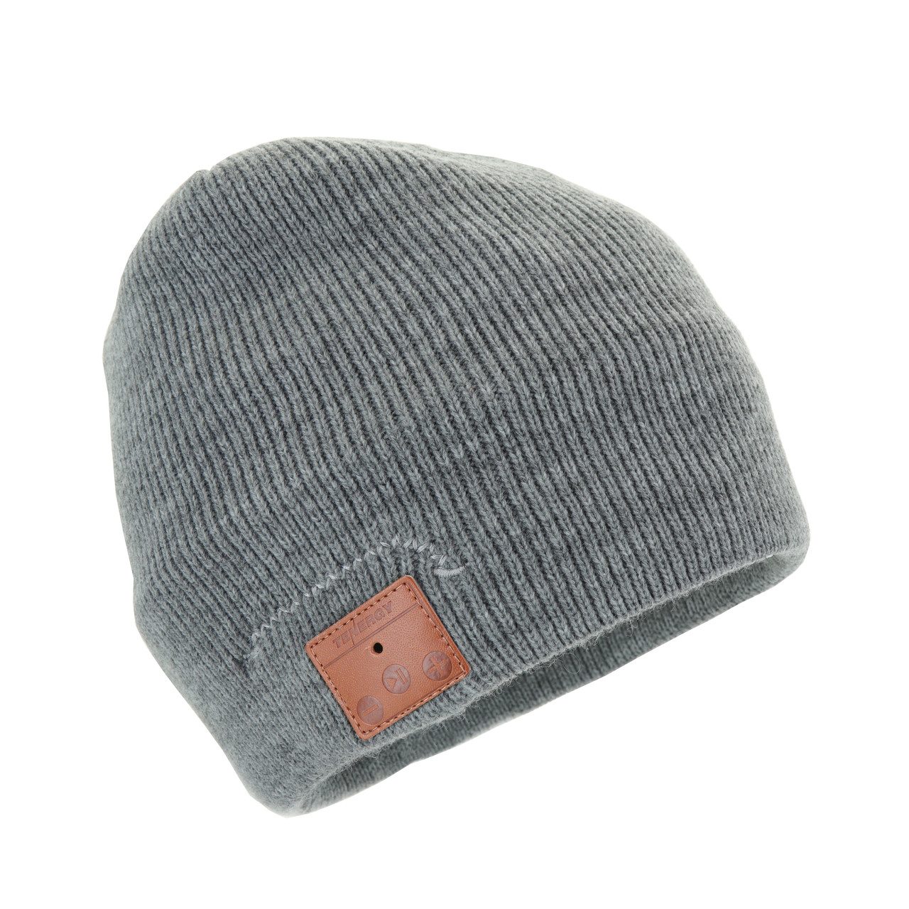 Tenergy Bluetooth Beanie w/ Basic Knit (Color: Gray)