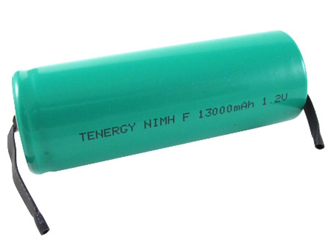 Tenergy F Size 1.2 V 13000mAh NiMH Flat Top Rechargeable Battery