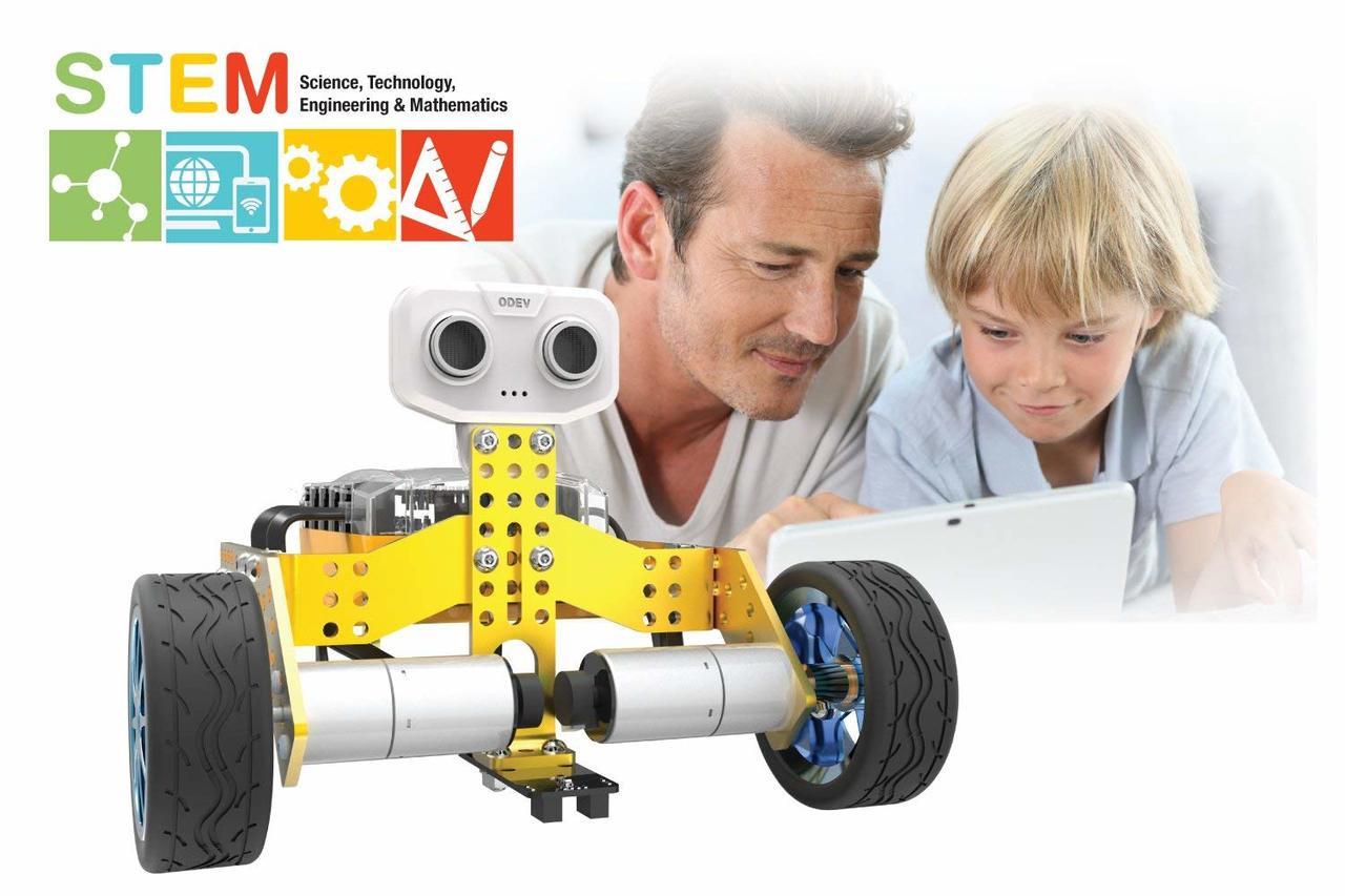 Tenergy Odev Tomo 2-in-1 STEM Educational Robotic Kit