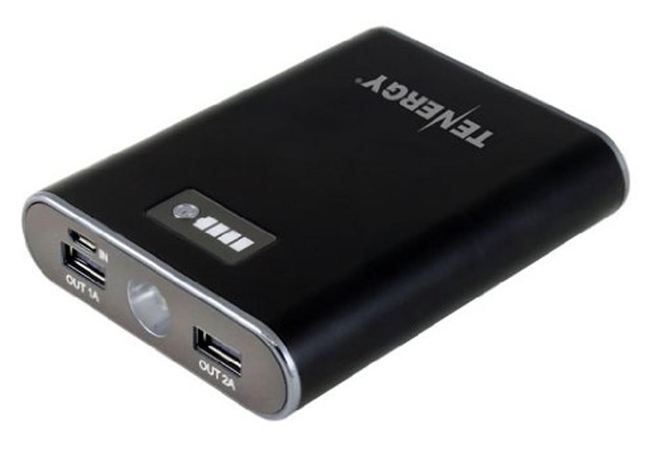 Tenergy SK6 8,800mAh Mobile External Charger / Power Bank + Bonus Accessories