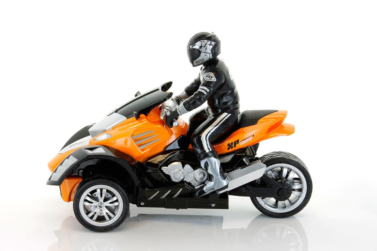 Tenergy T200 1:10 Scale R/C ATV Drifting Motorbike (Gold)