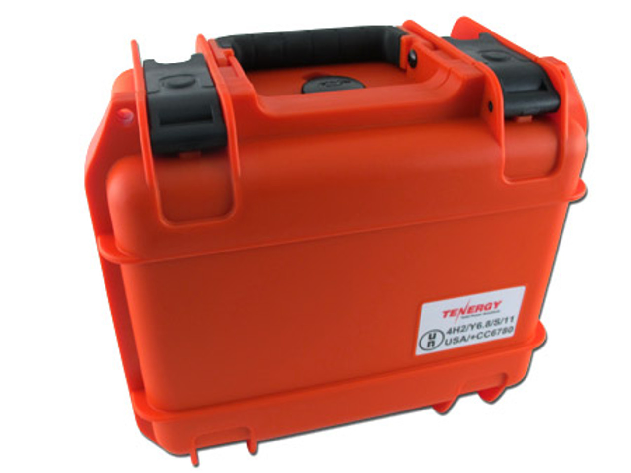 Tenergy Waterproof Battery Case- Orange